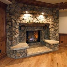 builtin bench, living rooms, insan clever, new homes, brick, builtin seat, living room fireplace, outdoor fireplaces, live room