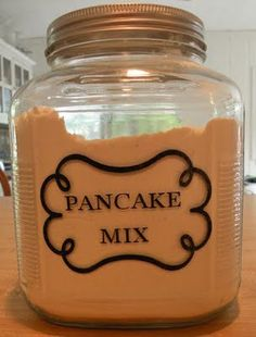 Mix It Up- Making Homemade Mixes to Save Money- links to lots of great recipes