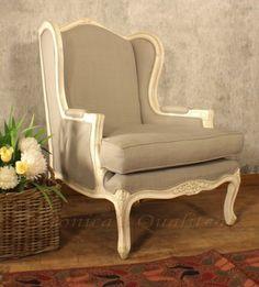 Armando Classic Wingback Living Room Chairs