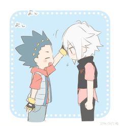 Valt tries to treat Shu like a kid