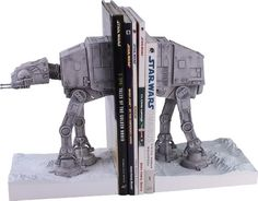 Star Wars AT-AT Bookends Star Wars http://www.amazon.com/dp/B0014XR1XG/ref=cm_sw_r_pi_dp_bBiIub0AJJZBH