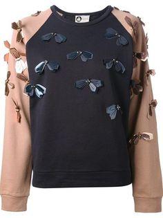 Lanvin Embellished Floral Sweatshirt #genteroma #floral #daydream: