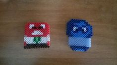 Anger and Sadness - Inside Out hama mini beads by L'Antro di Vickye