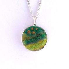 The life around coral reefs was the inspiration for this newly created Small Saints pendant!