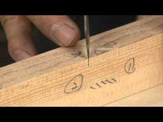짜맞춤 가구의 기초_제비촉_4(korea wood joinery furniture_4) - YouTube