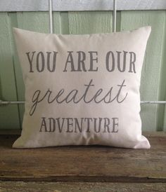 This is the sweetest accent for your baby nursery or for a baby shower gift. Lovingly hand painted with the quote You are our Greatest