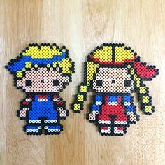 Patty & Jimmy - Sanrio perler beads by myjsi000
