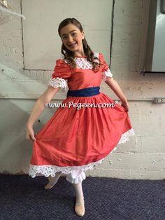 929755f073dd Nutcracker Ballet Clara Party Scene Dresses by Pegeen Nutcracker Costumes