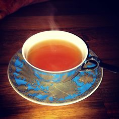 Beautiful #earlgrey #tea at #movida #surryhills #t2 #teacup #saucer #steamin