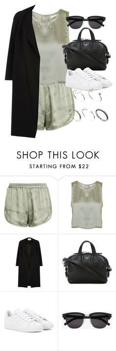 """""""Style #11619"""" by vany-alvarado ❤ liked on Polyvore featuring Topshop, River Island, Givenchy, adidas, Yves Saint Laurent and ASOS"""