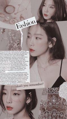 Yoona Snsd, Sooyoung, Black Aesthetic Wallpaper, Aesthetic Wallpapers, Taeyeon Wallpapers, Girls' Generation Taeyeon, Soft Wallpaper, Kim Tae Yeon, Kpop Aesthetic