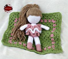 Free Crochet Pattern: Lovely Marie - Crochet Doll. From http://katidcreations.com/lovely-marie/