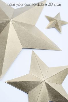 Origami Paper Stars Diy Holidays 69 Ideas For 2019 Star Diy, 3d Star, Crafts To Make, Home Crafts, Diy Crafts, Paper Crafts Origami, Diy Origami, Origami Tutorial, Origami Boxes