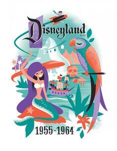 'Decades' Art Debuts for the Disneyland Resort Diamond Celebration