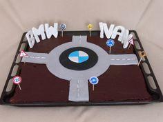 Brownie para un apasionado de BMW y las rotontas