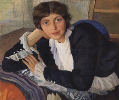 Zinaida Serebriakova:  Portrait of Lola Braz (1910)
