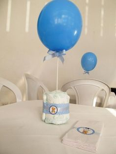Festa Provençal Porto Alegre Baby Shower Balloons, Baby Shower Themes, Baby Boy Shower, Baby Tea, Baby Shawer, Princess Birthday Cupcakes, Baby Boy Rooms, Holidays And Events, Baby Gifts