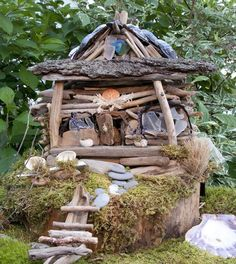 A British Faery: Faerie Houses