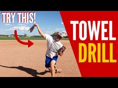 Baseball Pitching Towel Drill! (THROW GAS!!) - YouTube