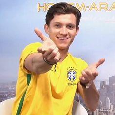 Se ele ama o Brasil, pode vim meu amor. Eu lhe monstro tudo, tudinho mesmo...