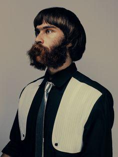 Bowl Cut Chinless Beard...nope...