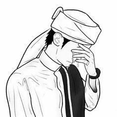 Ideas Wall Paper Cartoon Boys For 2019 Hijab Cartoon, Cartoon Boy, Couple Cartoon, Best Facebook Profile Picture, Creative Profile Picture, Muslim Images, Muslim Couple Photography, Image Citation, Cute Muslim Couples