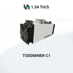Toddminer C1 (1.54th) fromTodek miningEaglesong algorithm with a maximum hashrate of 1.54th/s for a power consumption of1380W. Asic Bitcoin Miner, Mining Pool, Blockchain