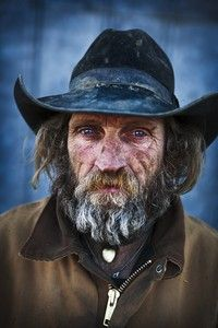 American Cowboy - National Geographic Photo Contest 2011. Photo and caption by Kristoffer Hellman Robin Delocier works at a ranch close to Big Piney, Wyoming, USA. He is 51 years old, and has spent most of his life working as a cowboy. Location: Big Piney, Wyoming, USA