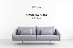 STUA Costura sofa is here, for your lazy hours: COSTURA: www.stua.com/design/costura