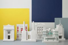 What do you think of this arrangement? http://www.chiselandmouse.com/architectural-sculptures.html