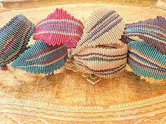 Macramé - Cavandoli bracelets