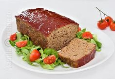 Meatloaf / Drob din carne tocata – reteta video Meat Loaf, Dessert Recipes, Desserts, Foodies, Cooking, Buffet, Videos, House, Pork