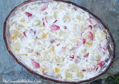Amazing Fruit Salad recipe that I found. Great for Thanksgiving and Christmas!!