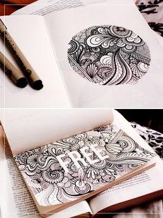 inspiration / danielle aldrichs sketchbook | http://korywoodard.com