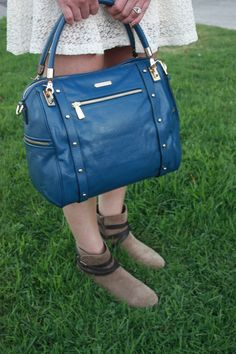Love the color of this bag! #InThisFashion