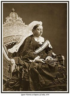 Queen Victoria as Empress of India 1876