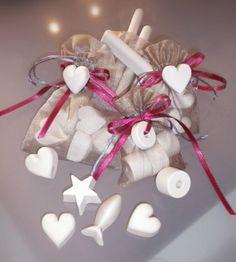 confezione regalo_sacchettino in organza 5 o 6 pezzi