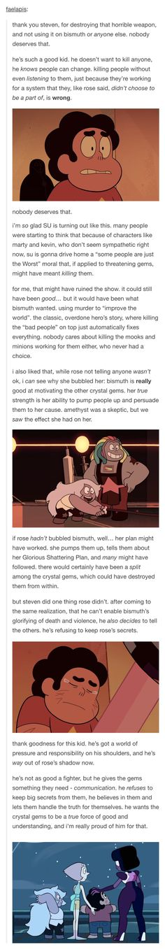 BLESS THIS POST<-- BLESS STEVEN! HE'S JUST TOO PURE FOR THIS WORLD I LOVE HIM SO MUCH