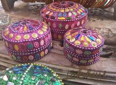caixinhas Kashmere, decoração indiana, bohostyle, decoração étnica (15)