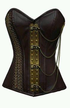 Steampunk corset. | Steampunk Corsets | Pinterest