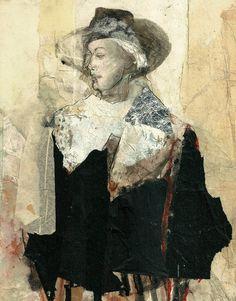 "Saatchi Art Artist: Ute Rathmann; Graphite 2013 Drawing ""Tribute to James Goldstein I"""