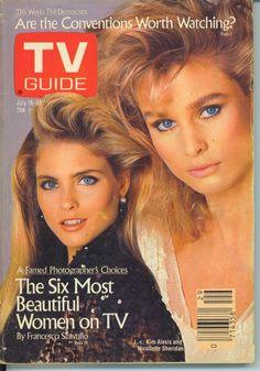 PORTLAND TV GUIDE 7-16-1988 KIM ALEXIS~NICOLLETTE SHERIDAN~KELSEY GRAMMER