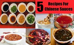 How To Make Chinese Sauces - Homemade Chinese Sauces Recipes | DIY Life Martini