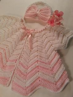 Ready to Ship Baby Newborn Infant Butterfly Angel Wings Vintage Retro Pinafore Cardigan Sweater Dress Cover up
