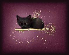 melissa dawn art   Key of Enchantment Fine Art Print by Melissa Dawn at FulcrumGallery ...