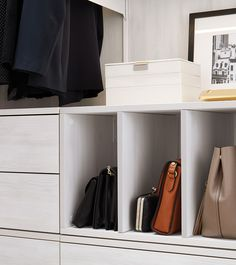 9 Easy And Clever Organization Ideas Diys Tips In 2021 Clever Organizer Closet Apartment Elfa Closet System