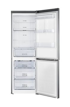 Samsung Wide Frost-Free Fridge Freezer With Digital Inverter Technology - Silver - Ilver -