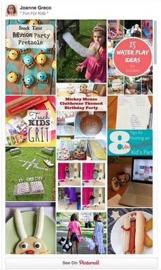 Fun ideas for kids on Pinterest! #funforkids #kids #kidsfun #familyfun #pinterest