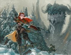 ArtStation - Dragon Hunter, Kim Junghun