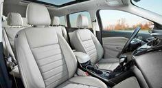 2017 Ford Escape Titanium - Interior -View